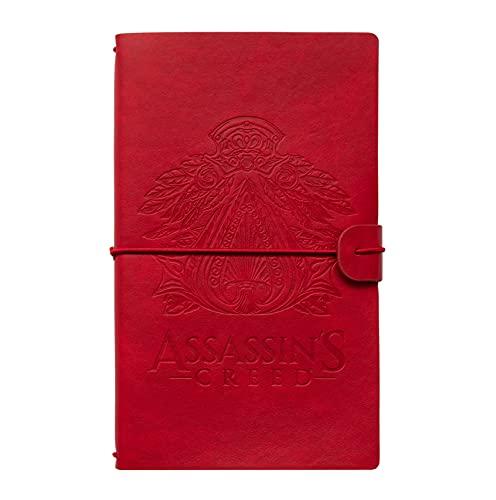 Grupo Erik - Cuaderno de viaje, Cuaderno de notas de cuero Assassin's Creed, 12x19,6x1,7 cm