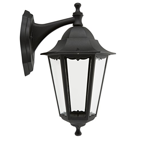 Lampada da parete Smartwares 5000.029 Classico - Alluminio/vetro - Lampada classica, spina/presa