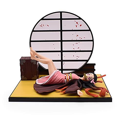 Achnr Dämon Slayer Kamado Nezuko Figur Kamado Nezuuko liegend Sammelmodell Puppe