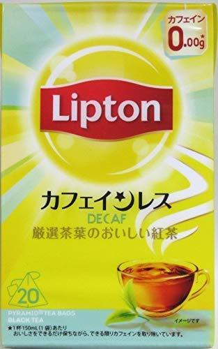 リプトン カフェインレスティー 20袋