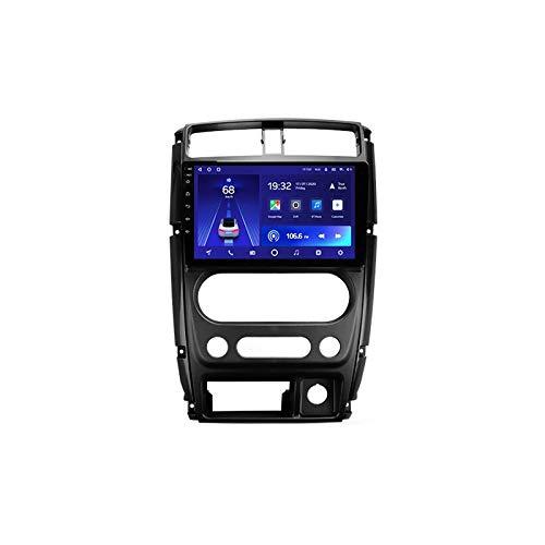 MGYQ Autoradio Bluetooth 2 DIN HD Touch Screen, per Suzuki Jimny 3 2005-2019 Stereo Auto Radio Vivavoce Lettore MP5 Supporto Bluetooth/FM/USB/AUX/Mirror Link/GPS Navigazione,Quad Core,4G WiFi 1+32