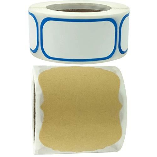 D88, Contenido de la fecha Material Pegatinas de almacenamiento de alimentos Refrigerador Congelador Marca DIY Despensa Sello Etiquetas para Contenedor Botella Caja Paquete