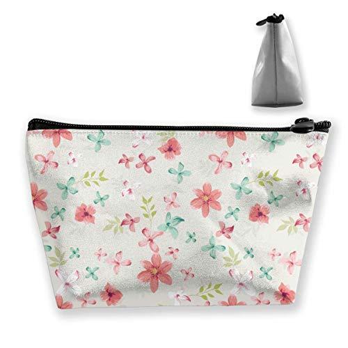 Bolsas de Almacenamiento de cosméticos prácticas de cártamo de Cuatro pétalos de Color...