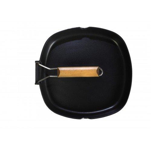 WeCook 10800 Sarten Grill Antiadherente Induccion Vitrocerámica y Fogón, Aluminio, 20 cm,...