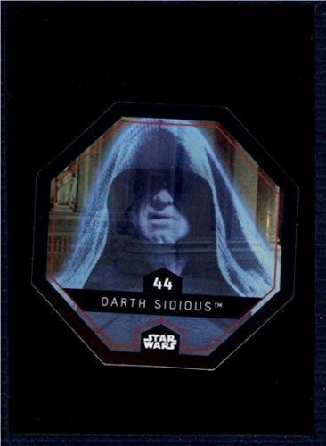 2017 Winn Dixie Star Wars Cosmic Shells #44 Darth Sidious