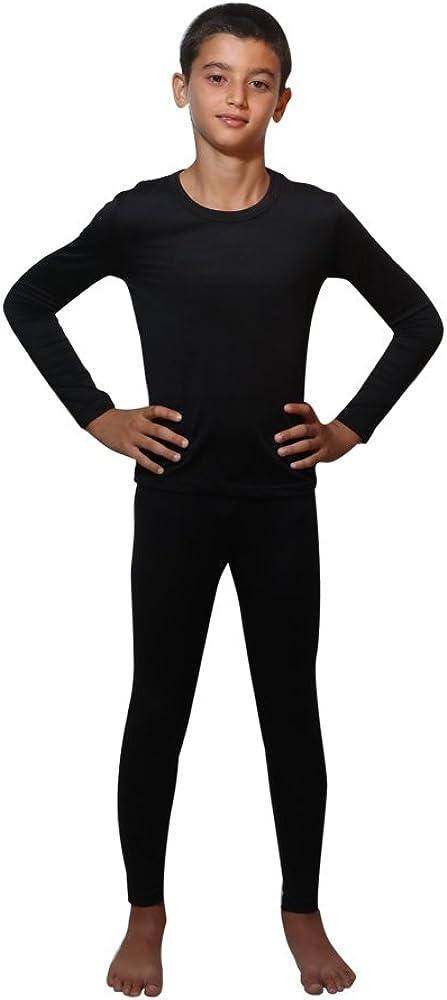 Children Thermal Underwear Set by Outland; Base Layer; Soft Fleece; Top&Leggings