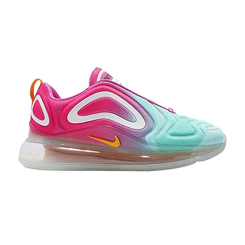 Nike Women's Air Max 720 Running Shoes (10, Teal Tint/University Gold/Laser Fuchsia)