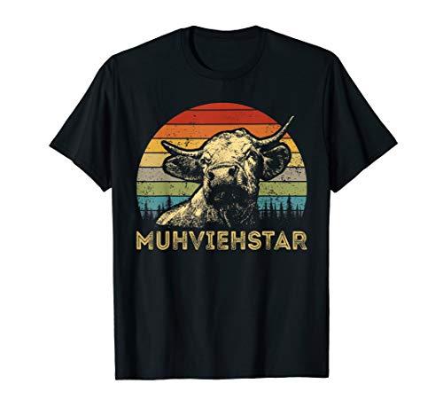 Muhviehstar Muhviehstar Kuh Kühe Rindvieh T-Shirt