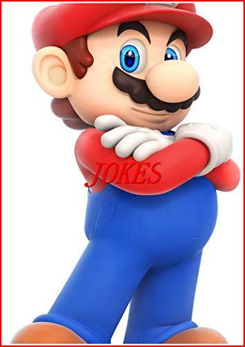 Super Mario Bros Jokes : Funny M£M£S, Jokes And Other Cool Stuff - Fun Story (English Edition)