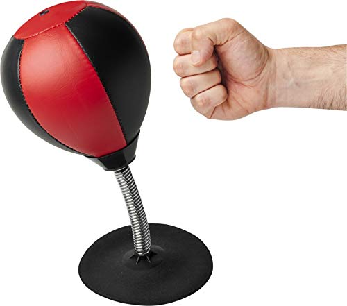 Schreibtisch Punching Ball Boxball Desktop Zubehör Stressabbau Frustabbau Boxsack für den Schreibtisch