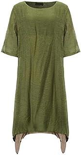 فستان لل نساء مقاس M , متعدد الالوان - فساتين عملية كاجوال
