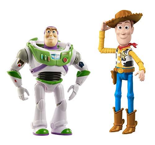Disney Pixar Toy Story 4 pack de 3 figuras básicas Woody, Buzz Lightyear y Forky, de 3 años en adelante