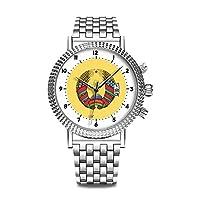 高級 時計 ブランド 人気、 上品 腕時計 ブランド 人気、自分用もしくは親戚お友達恋人へ贈る メンズ 時計 パーソナリティパターンウォッチ 039. ベラルーシコートオブアーム腕時計
