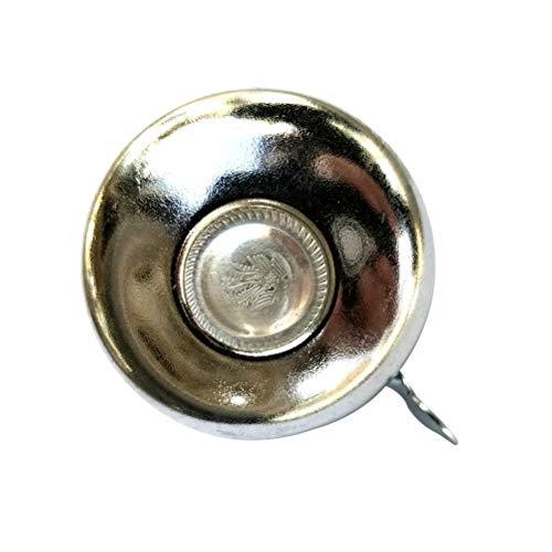 BESPORTBLE Klassische Fahrrad Zubehör Retro Fahrradklingel Alarm Metall Lenker Mini Vintage Radfahren Horn (Helle Farbe 52mm)