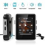 Lecteur MP3,Timoom X1 Lecteur Baladeur Bluetooth 1.77 Pouces Sport Écran Tactile Complet 16 Go,...