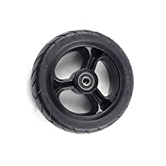 Anti-stick, explosion-proof, non-inflatable, durable The tire is easy to use and replace, and can be flexibly adjusted and fixed firmly. 5.5x2 tires with wheels Strong applicability, widely compatible with tires of the same model. Before ordering, pl...