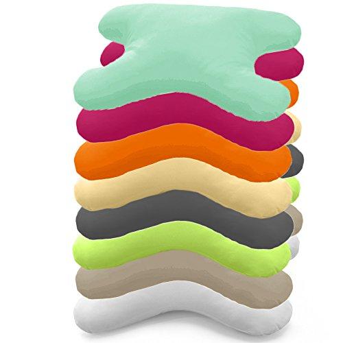 Hefel My Face Kissen Bezug 40x60 cm, Geheimwaffe gegen Falten in verschiedenen Farben (apfel)