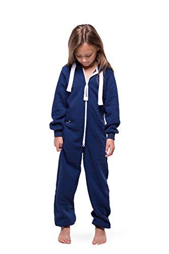 Jumpster Jungen und Mädchen Jumpsuit Kinder Overall Kids Purest Blue Blau - 3
