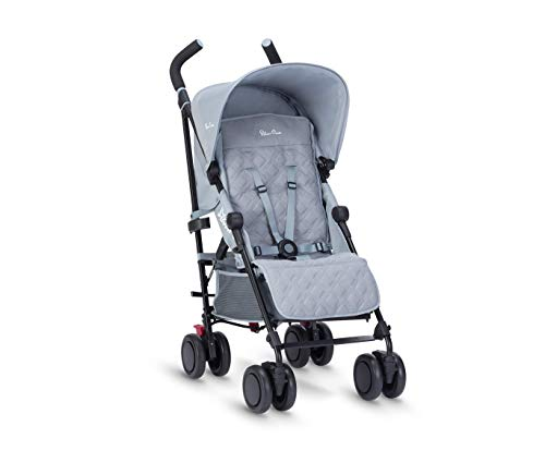 Silver Cross Pop Stroller, Compact and Lightweight Pushchair – Quarry