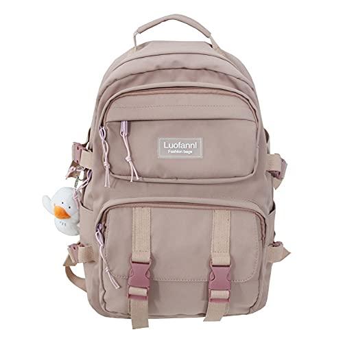 リュック リュックサック ビジネスバック メンズ レディース おしゃれ 大人 ビジネスリュック ナイロン 大容量 軽量 撥水 人気 アウトドア 通学通勤 旅行 鞄 (ピンク)