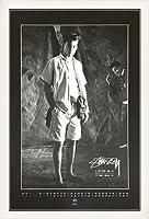 ポスター ステューシー ステューシー20th Anniversary プリント05 額装品 ウッドベーシックフレーム(ホワイト)