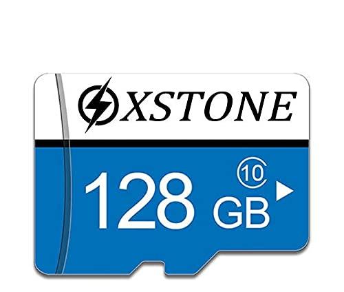 Carte Memoire 128 go Micro SD/TF Class 10 avec Adaptateur et Lecteur Carte Memoire pour telephone/MP3/GPS/Tablette/PC/Appareils Photo