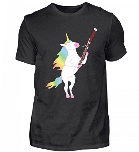 Para todos los fans del fagot y los unicornios. - Camiseta para hombre.