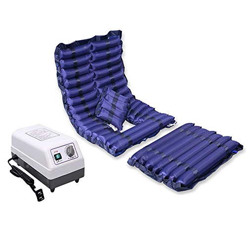 AYHa Alternating Pressure Mattress, Inflatable Bed Air Topper Pad for Bed Sore for Pressure Ulcer and Pressure Sore Relief Bedridden Management Includes Electric Pump System,Normal Pump,No Hole