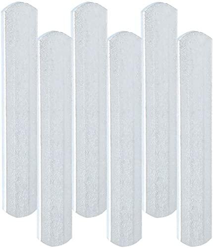 Ducomi 50 placas para chalecos lastrados de acero inoxidable – Barras de metal para chaleco, entrenamiento en casa y en el gimnasio – Placa para fitness, ejercicio muscular para mujer y hombre (10 kg)