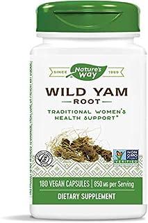 Nature's Way Premium Herbal Wild Yam Root 425 mg, 180 VCap