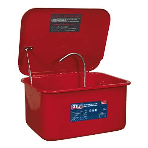 Sealey SM21 Cuve de nettoyage pour banc et pièces portables 15 l