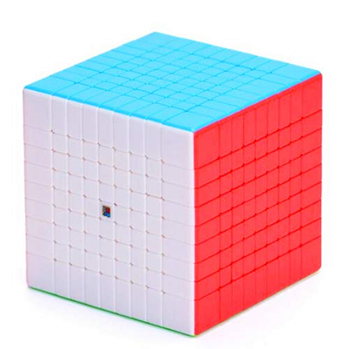 CuberSpeed Cubing Classroom moyu 9x9 stickerelss Speed Cube Mofang Jiaoshi Meilong 9x9 Magic Cube (MF9 Update Version)