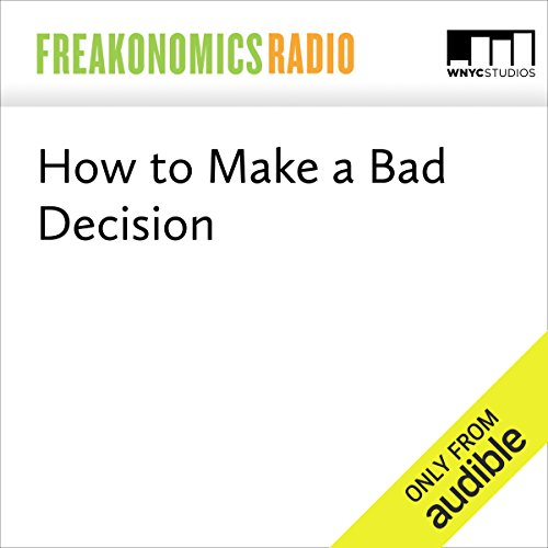 How to Make a Bad Decision audiobook cover art