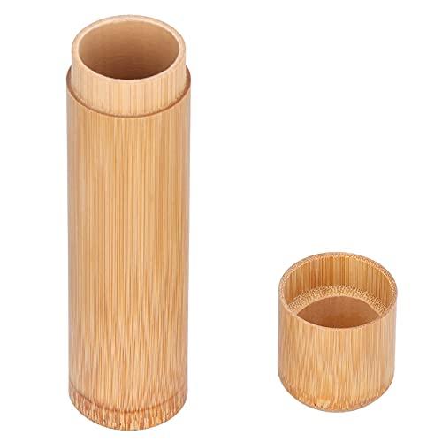 Organizador del almacenamiento de la caja del té, artículo seguro de la salud del tarro del té del sol para la cocina para las nueces(Latas de té de bambú sin dejar rastro, azul)