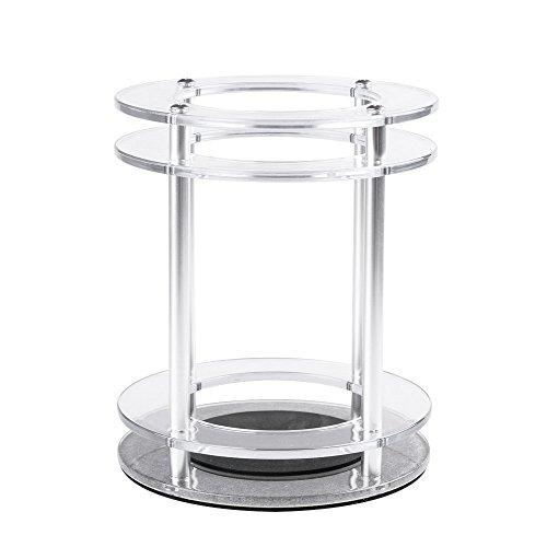 docooler Soporte Estable para Altavoz Soporte para Amazon Echo Soporte de de Acrílico para Protección Altavoz Decoración del hogar Transparente