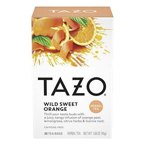 Tazo Wild Sweet Orange Filterbag Tea 20 Bags