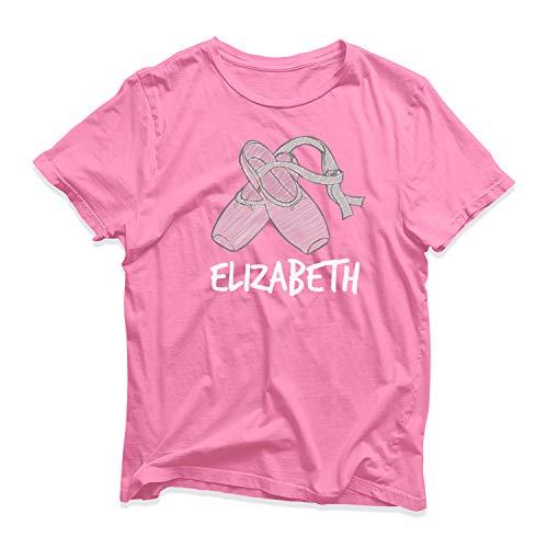 SMARTYPANTS - Camiseta de bailarina personalizada para bailarina y bailarina, diseño de bailarina Pink Prime 9-11 Años