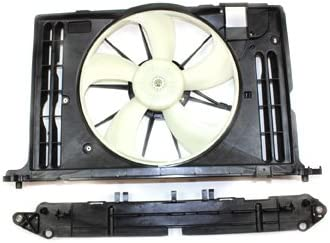 NEW before selling ☆ TYC 622130 Toyota Replacement Radiator Cooling Condenser Colorado Springs Mall Fan Ass