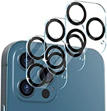 [3 Pack] CloudValley Camera Lens Protector for iPhone 12 Pro Max, 6.7'' Tempered Glass + Camera Lens Cover, 9H Hardness, 6.7 inch, HD Clear, Bubble Free, Easy Install, Scratch-Resistant