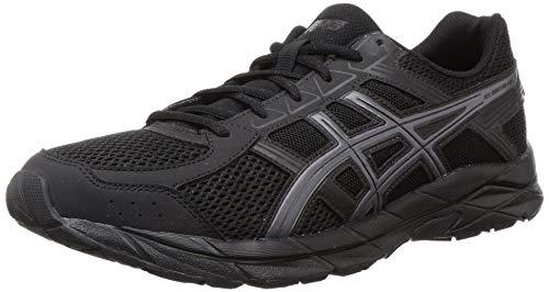 ASICS Men's Gel-Contend 4B Black Running Shoes-9 UK (44 EU) (10 US) (1011B141008)