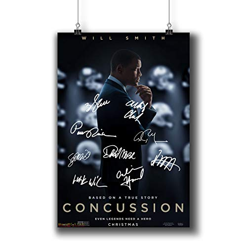 Pentagonwork Concussion (2015) Movie Photo Poster Prints 844-001 Reprint Signed Casts,Wall Art Decor Gift (A3|11x17inch|29x42cm)