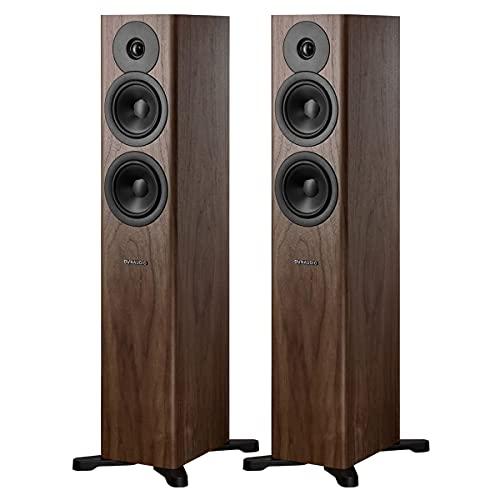 Dynaudio Evoke 30 Floorstanding Speakers - Pair (Walnut Wood)