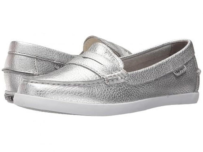 海藻ありふれた美容師[コールハーン] レディース 女性用 シューズ 靴 ローファー ボートシューズ Pinch Weekender - Argento Metallic Leather [並行輸入品]