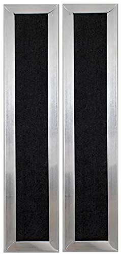 2-Pack Air Filter Factory Replacement for Frigidaire 5304464577 Microwave Oven Charcoal Carbon Filters