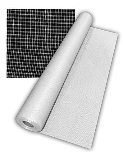 Malla de Fibra de Vidrio 60 gr.   Malla de refuerzo para impermeabilizar   Rollo de 50 m2.