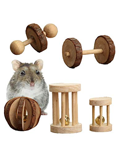 Small Animal Chew Toys for Hamster, Mouse, Chinchillas, Rabbit, Gerbil, Guinea Pig