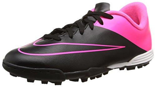 Nike Jr Mercurial Vortex II TF, Botas de fútbol Niños, Rosa Negro, 38