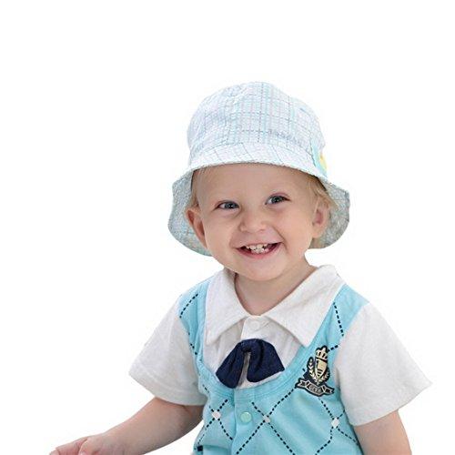 Fancyland Bob de Plein Air Soleil Bébé Pur Coton Hat pour Enfant Garçon Imprimé Frog