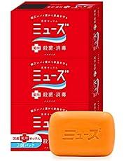 【医薬部外品】ミューズ 固形 石鹸 バスサイズ (135g×3個パック) お徳用 殺菌 消毒 手洗い 全身洗浄用 お風呂サイズ