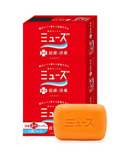 Earth Seiyaku Muse | Soap | Soap 135g x 3 (japan import)